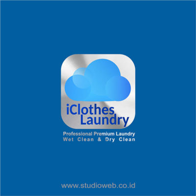 logo iclothes laundry