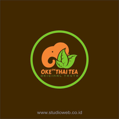 logo oke thai tea